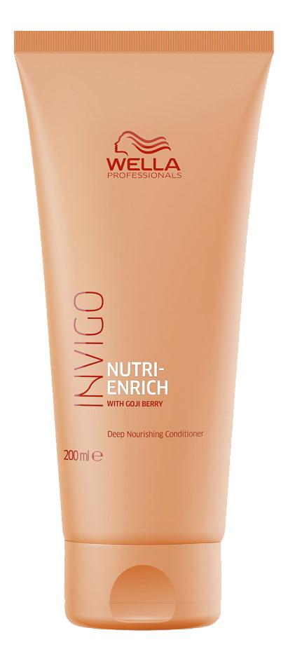 Купить Бальзам-уход 200мл, Питательный бальзам-уход для волос Invigo Nutri-Enrich Deep Nourishing Conditioner, Wella