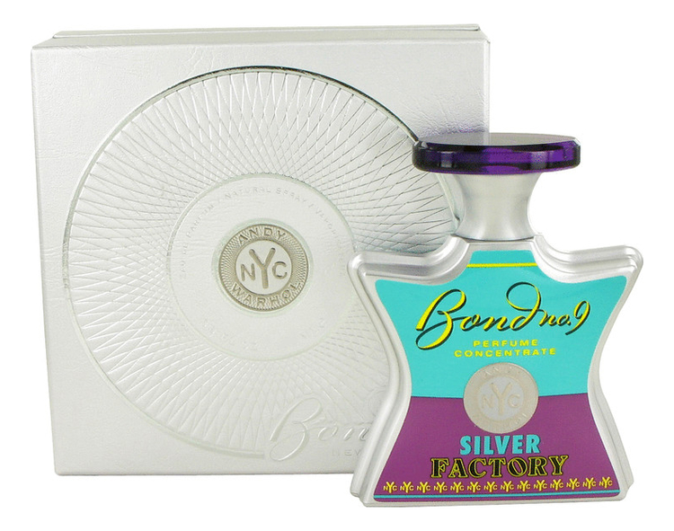 Bond No 9 Andy Warhol Silver Factory: парфюмерная вода 100мл andy warhol дезодорант 100мл