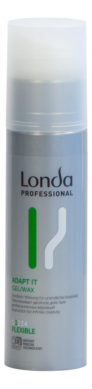 Купить Гель-воск для укладки волос нормальной фиксации Adapt It Gel/Wax 100мл, Londa Professional