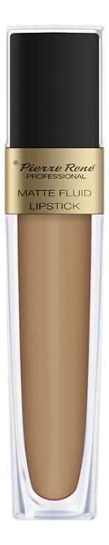 цена на Жидкая помада для губ матовая Matte Fluid Lipstick 6мл: 01 Бежево-лососевый