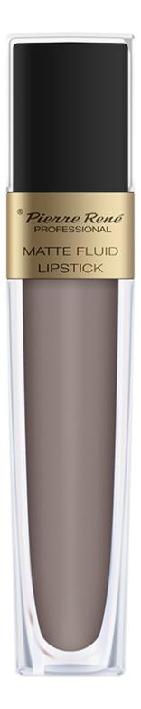 Жидкая помада для губ матовая Matte Fluid Lipstick 6мл: 02 Серо-бежево-розовый жидкая помада для губ матовая matte fluid lipstick 6мл 05 вишнево коричневый