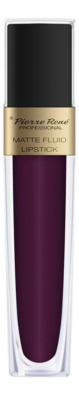 Купить Жидкая помада для губ матовая Matte Fluid Lipstick 6мл: 04 Сливовый, Pierre Rene