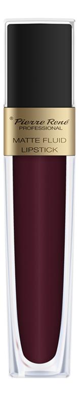 Жидкая помада для губ матовая Matte Fluid Lipstick 6мл: 05 Вишнево-коричневый жидкая помада для губ матовая matte fluid lipstick 6мл 05 вишнево коричневый