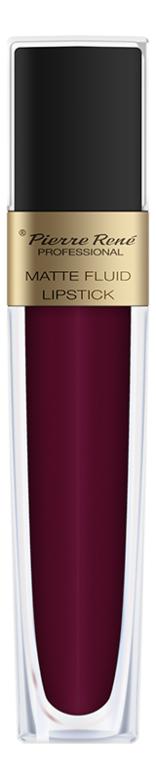 Жидкая помада для губ матовая Matte Fluid Lipstick 6мл: 07 Красно-малиновый жидкая помада для губ матовая matte fluid lipstick 6мл 05 вишнево коричневый