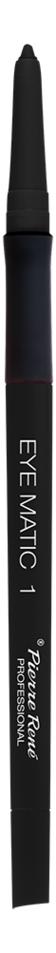 Механический карандаш для глаз Eye Matic 0,4г: 01 Черный с голографич блестками недорого