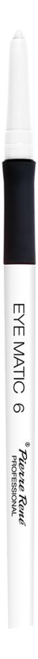 Механический карандаш для глаз Eye Matic 0,4г: 06 Белый матовый недорого