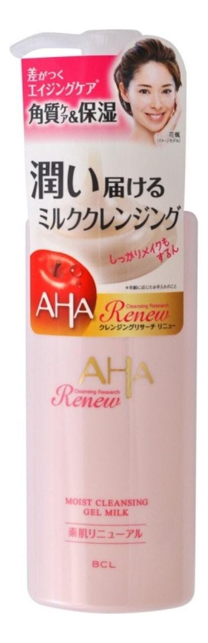 Гель-молочко для снятия макияжа Aha Moist Cleansing Gel Milk 135мл фото