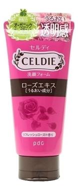 Пенка для умывания с экстрактом розы Celdie Bihada Washing Foam Rose 120г