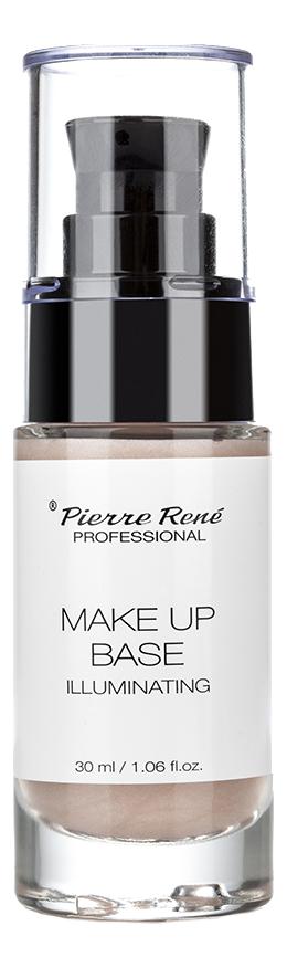 Основа под макияж с сияющими частицами Illuminating Make Up Base 30мл выравнивающая основа под макияж smoothing make up base 30мл