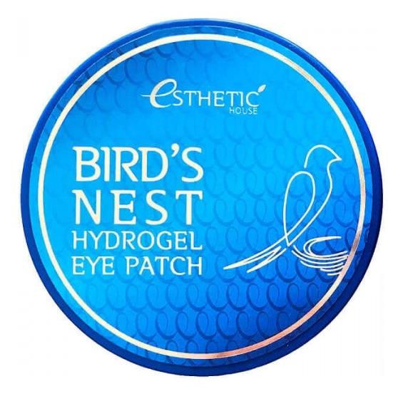 Купить Гидрогелевые патчи для кожи вокруг глаз с экстрактом ласточкиного гнезда Bird's Nest Hydrogel Eye Patch 60шт, Esthetic House