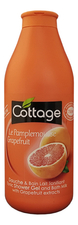Cottage Гель-пенка для ванны и душа Tonic Shower Gel And Bath Milk With Grapefruit Extracts 750мл
