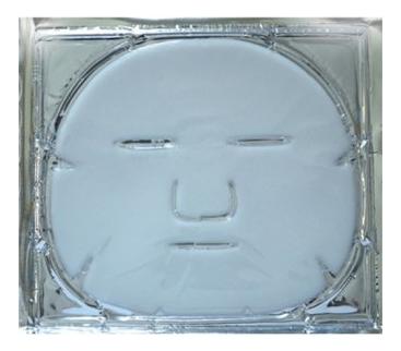 Увлажняющая маска для лица на основе коллагена с гиалуроновой кислотой и розовым маслом 1шт