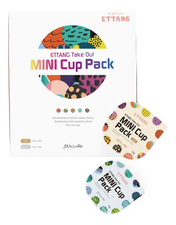 Ettang Набор мини-масок для лица Take Out Mini Cup Pack 4*10мл