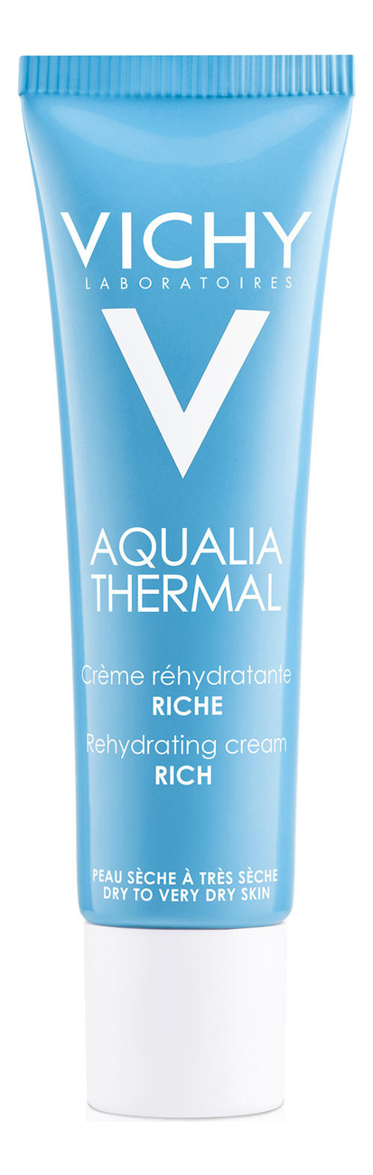 Насыщенный крем для лица Динамичное увлажнение Aqualia Thermal: Крем 30мл набор aqualia thermal