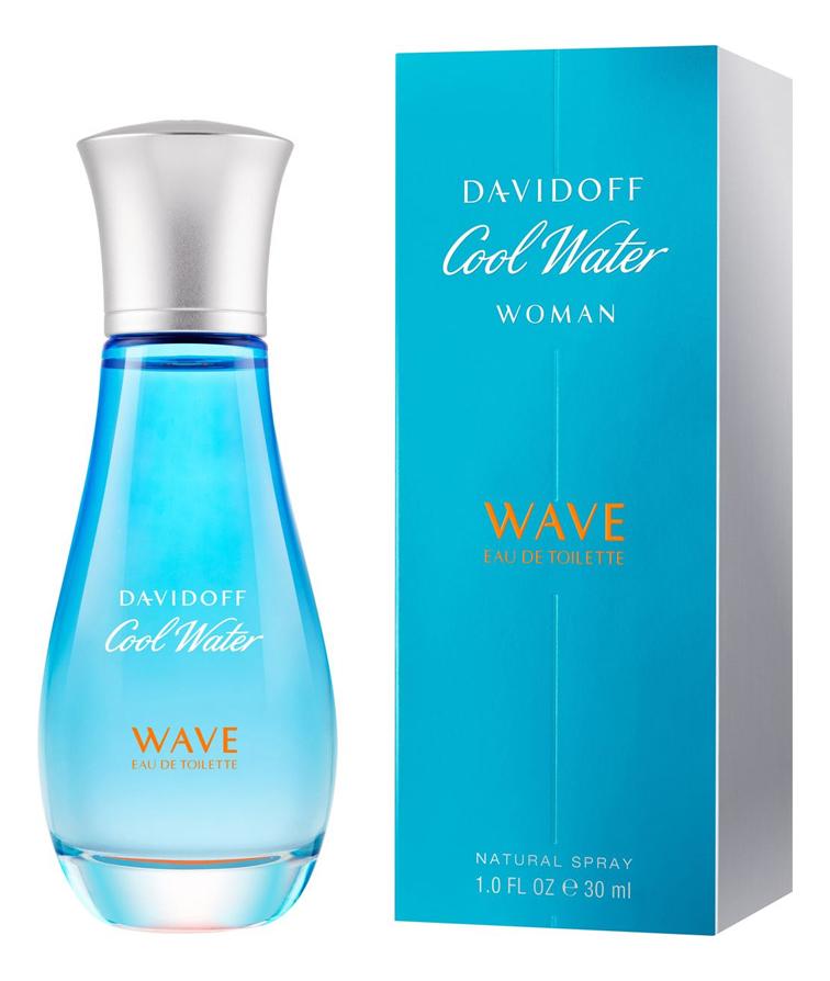 Cool Water Woman Wave: туалетная вода 30мл