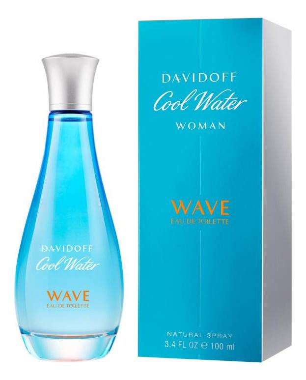 Cool Water Woman Wave: туалетная вода 100мл cute blue woman туалетная вода 100мл