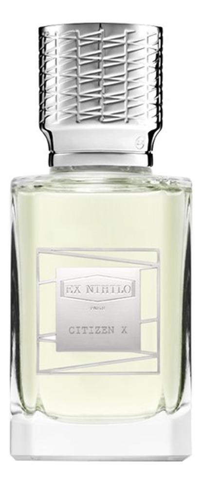 Фото - Ex Nihilo Citizen X: парфюмерная вода 50мл тестер ex nihilo musc infini парфюмерная вода 50мл