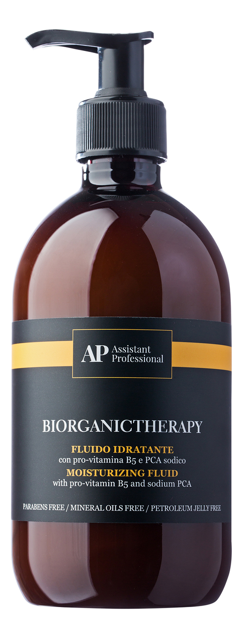 Купить Увлажняющий флюид для волос Bio Organic Therapy Moisturizing Fluid: Флюид 500мл, Assistant Professional