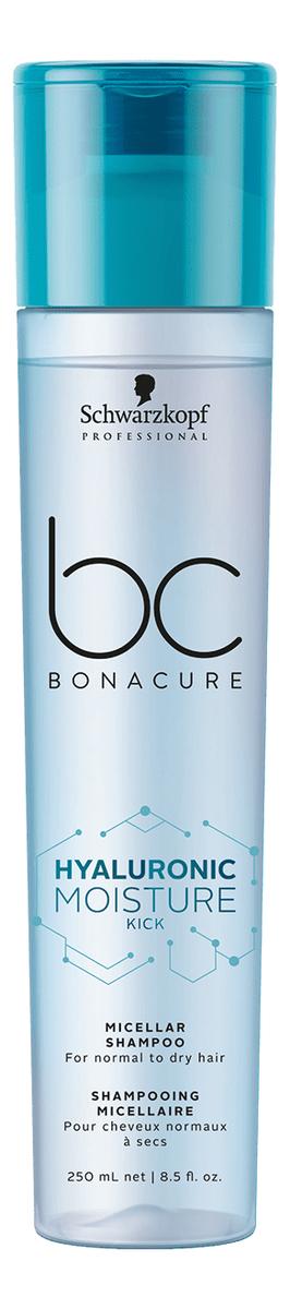 Фото - Мицеллярный шампунь для волос BC Hyaluronic Moisture Kick: Шампунь 250мл schwarzkopf кондиционер мицеллярный очищающий moisture kick 500 мл