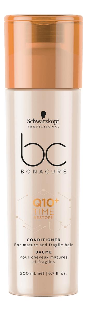 Смягчающий кондиционер для волос BC Q10+ Time Restore Conditioner 200мл: Кондиционер 200мл недорого