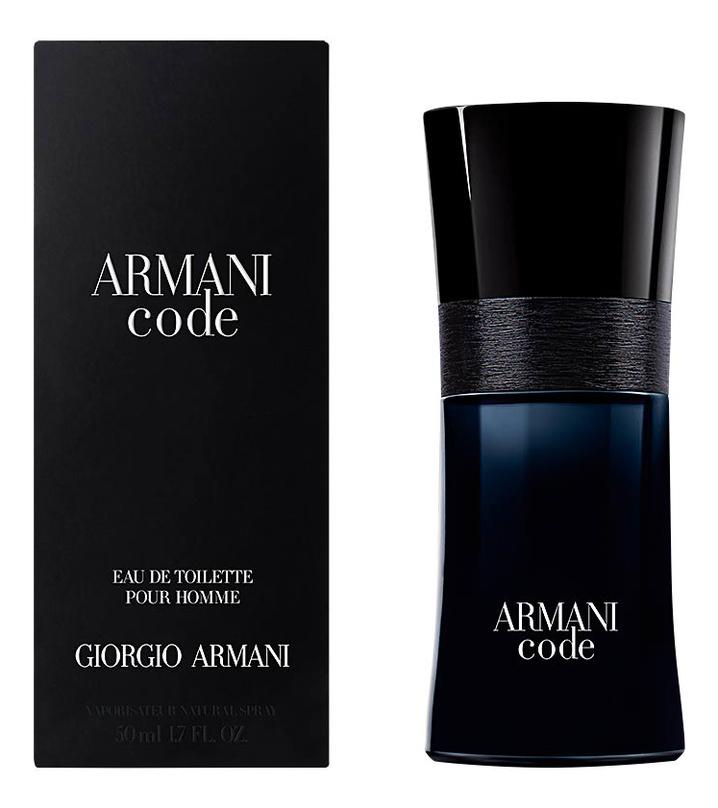 Купить Code pour homme: туалетная вода 50мл, Giorgio Armani