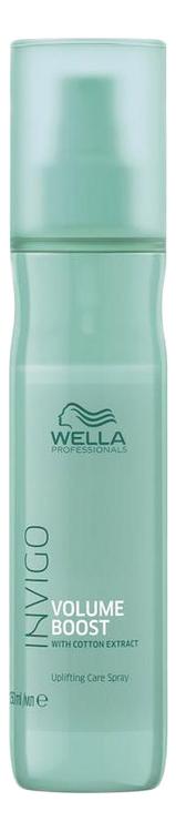 Купить Спрей-уход для прикорневого объема волос Invigo Volume Boost Care Spray 150мл, Wella