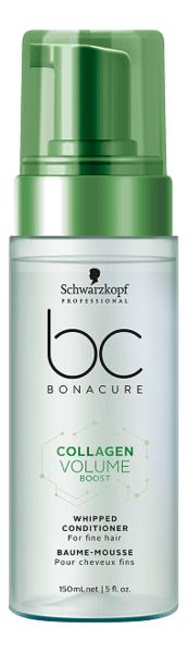 Купить Мусс-кондиционер для тонких и ослабленных волос BC Collagen Volume Boost Whipped Conditioner 150мл, Schwarzkopf Professional