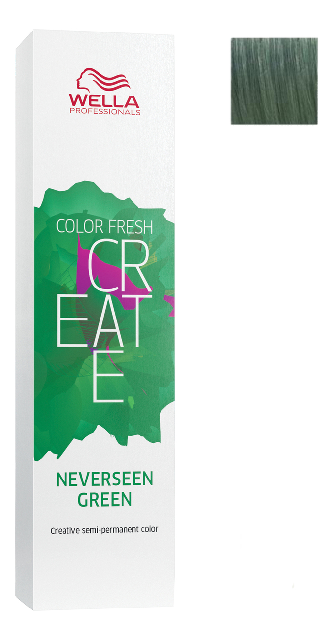 Оттеночная краска Color Fresh Create 60мл: Neverseen Green