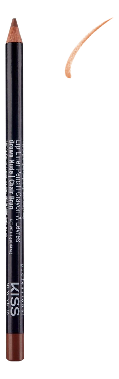 Контурный карандаш для губ Lip Liner Pencil 1,1г: Brown Nude