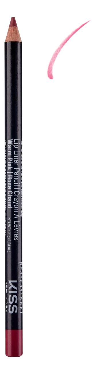 Контурный карандаш для губ Lip Liner Pencil 1,1г: Warm Pink