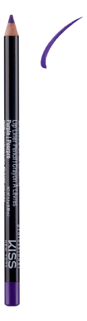 Контурный карандаш для губ Lip Liner Pencil 1,1г: Purple недорого