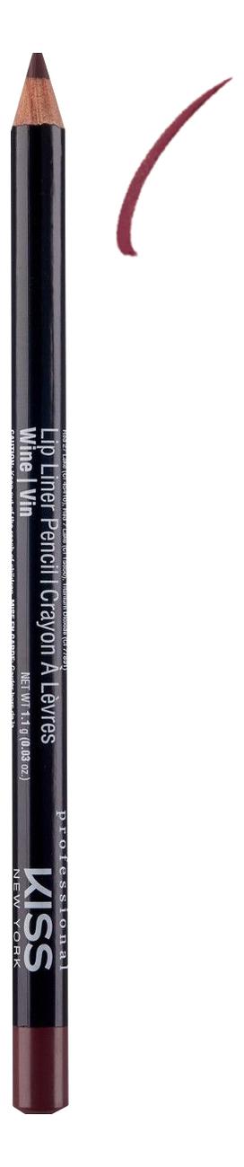 Контурный карандаш для губ Lip Liner Pencil 1,1г: Wine