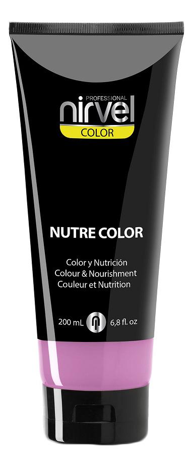 Купить Гель-маска для окрашивания волос Nutre Color 200мл: Bubble Gum, Nirvel Professional