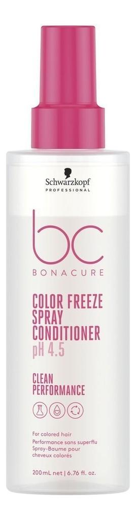 Спрей-кондиционер для волос BC pH 4.5 Color Freeze Spray Conditioner: Спрей-кондиционер 200мл loreal professional volumetry спрей