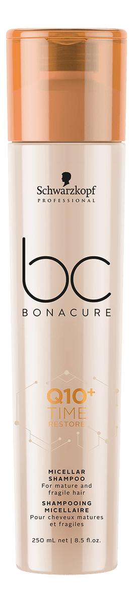 Мицеллярный шампунь для волос BC Q10+ Time Restore Micellar Shampoo 250мл: Шампунь 250мл restore шампунь