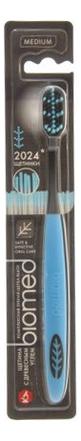 Купить Зубная щетка с древесным углем BioMed Black Medium (цвет в ассортименте), SPLAT
