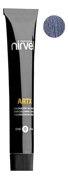 Краска для волос на основе протеинов пшеницы Color ARTX 60мл: Р-61 Стальной синий недорого