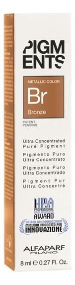 Пигмент для волос Pigments 8мл: Bronze