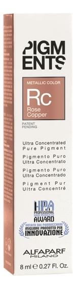 Пигмент для волос Pigments 8мл: Rose Copper