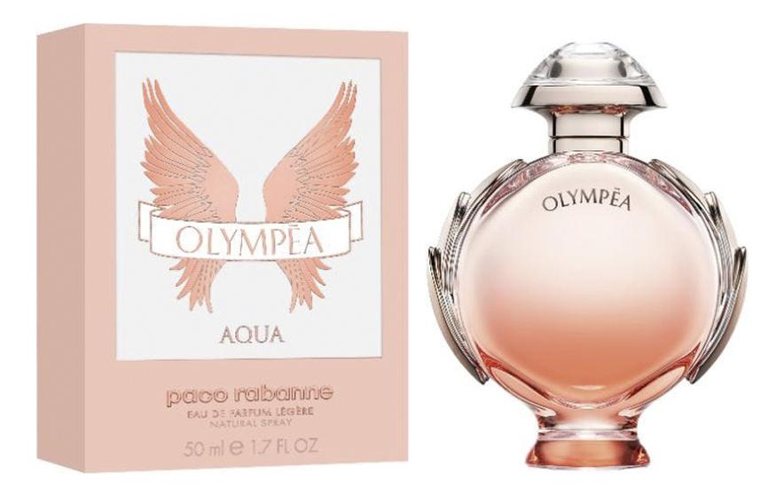 Фото - Olympea Aqua Eau De Parfum Legere: парфюмерная вода 50мл парфюмерная вода paco rabanne olympea onyx 80 мл