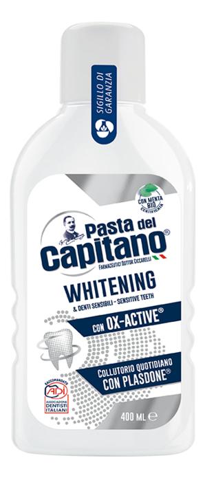 Купить Ополаскиватель для полости рта Whitening 400мл, Pasta Del Capitano 1905