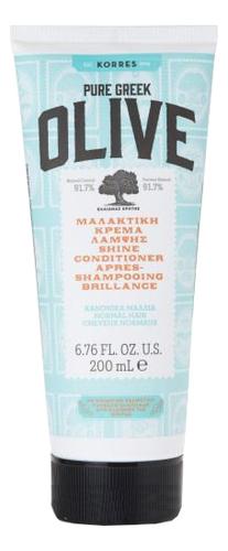 Купить Кондиционер для придания блеска волосам с экстрактом оливы Pure Greek Olive Shine Conditioner 200мл, Korres