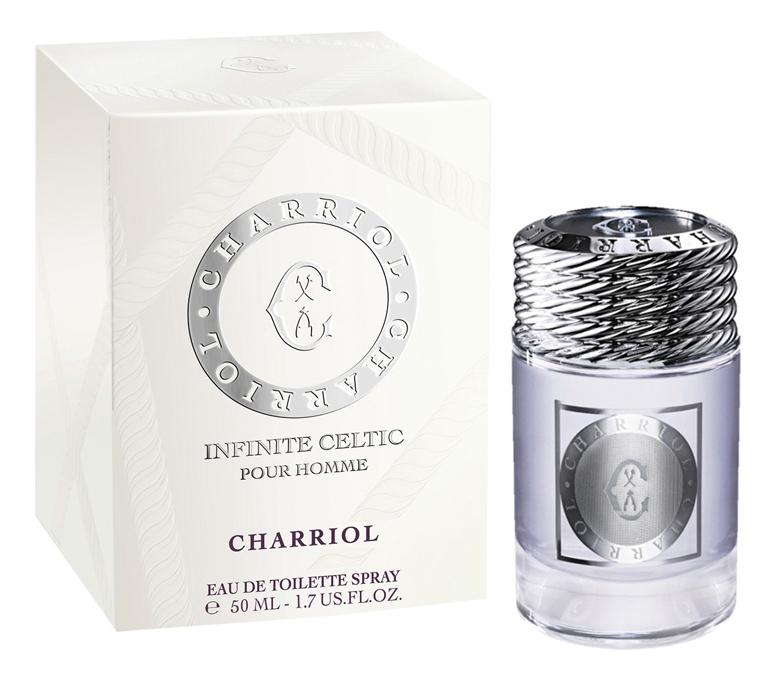Charriol Infinite Celtic: туалетная вода 50мл charriol royal leather туалетная вода 100 мл