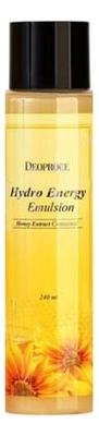 Эмульсия для лица с экстрактом меда Hydro Energy Emulsion 240мл muse vera sprout energy emulsion эмульсия для лица с экстрактом ростков баобаба 130 мл