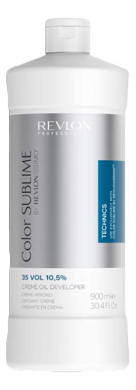 Кремообразный окислитель для краски Revlonissimo Color Sublime Cream Oil Developer 10,5%: Окислитель 900мл chi luxury black seed oil curl defining cream gel