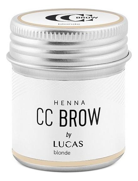 Хна для окрашивания бровей CC Brow Color Correction Professional Brow Henna Blonde: Хна 10г