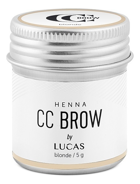 Хна для окрашивания бровей CC Brow Color Correction Professional Brow Henna Blonde: Хна 5г