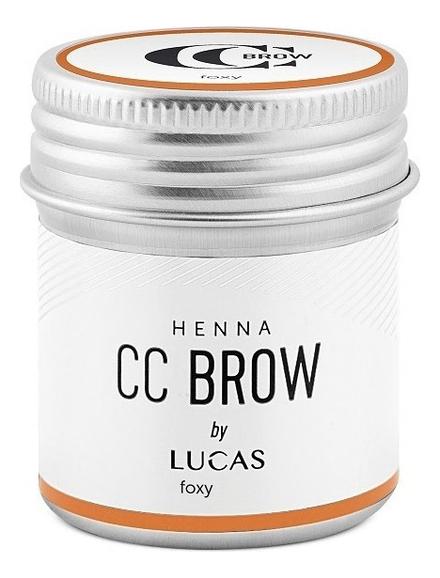 Хна для окрашивания бровей CC Brow Color Correction Professional Brow Henna Foxy: Хна 10г