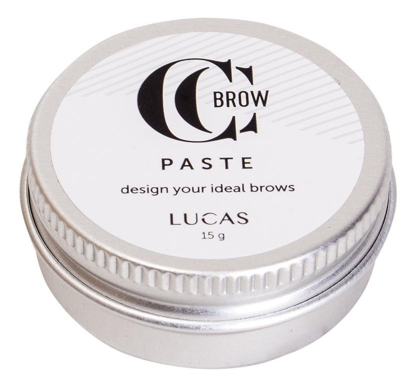 Корректирующая паста для окрашивания бровей Brow Paste By CC Brow 15г цена и фото