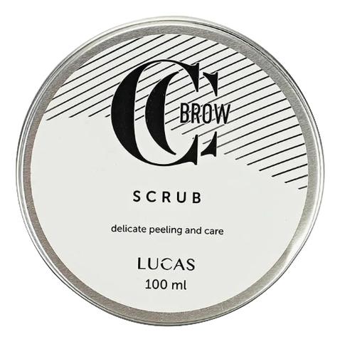 Скраб для бровей Brow Scrub By CC Brow 100мл цена и фото